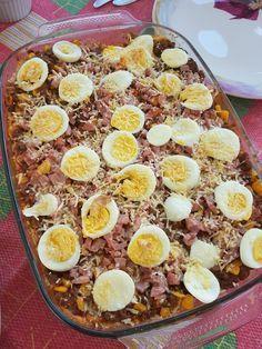 Arroz de Forno #recipe #recipes #receita #receitas #food #cooking #comida #cozinha Cooking Recipes, Healthy Recipes, Healthy Food, Food Tags, Oven Dishes, Fabulous Foods, Sandwiches, Acai Bowl, Diet