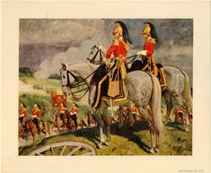 Officers of the 6th Dragoon Guards