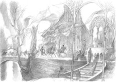 Concept Art for The Hobbit and Unexpected Journey - Alan Lee