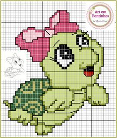 ~ Marvelous photo ~ This Pin was discovered by Luxe Bands. Cross Stitch Disney, Cross Stitch Baby, Cross Stitch Animals, Pixel Crochet, Crochet Chart, Unicorn Cross Stitch Pattern, Cross Stitch Patterns, Cross Stitching, Cross Stitch Embroidery