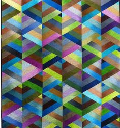 Prism quilt by Nancy Rich with free PDF pattern