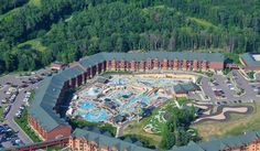 Glacier Canyon Lodge at Wilderness Territory in Wisconsin Dells