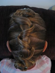 Maybe a Communion hairstyle idea