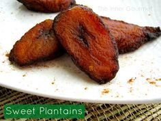 Plantains! (The best food ever)