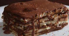 Receita de Pavê de Chocolate (Preto de Alma Branca )
