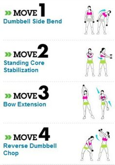 Fitness on Pinterest | Love Handles, Daily Exercise Plan ...