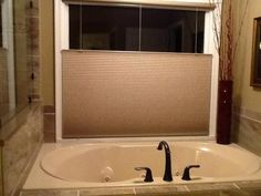 """Our customer said: """"The blinds were better than I expected. It only took me 15 minutes to install. I was going to order the white blind, but decided on the cat tails. Love love the top down bottom up.. Happy happy camper! Blinds.com was the best pricing I found."""""""