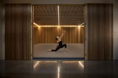 Contemporary yoga studios soothe the mind as much as they stretch the body.