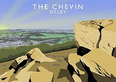 The Chevin, Otley Art Print (A3) Chequered Chicken https://www.amazon.co.uk/dp/B071RTNLBG/ref=cm_sw_r_pi_dp_x_5JXczbSB6MHRR