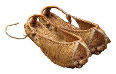 Beautiful twine sandals - Korean shinbal
