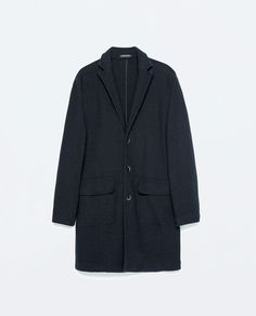 ZARA - COLLECTION SS15 - KNIT COAT