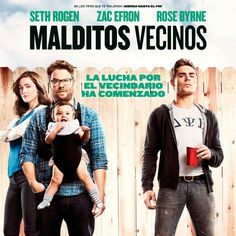 """Sortie du : """"Nos pires voisins"""" avec Seth Rogen, Rose Byrne, Zac Efron Movies 2014, Hd Movies, Movies To Watch, Movies Online, Movies And Tv Shows, Comedy Movies, Rose Byrne, Zac Efron, Books"""
