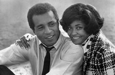 Lloyd Haynes and singer Nancy Wilson (guest star) from the television program Room 222. 1970