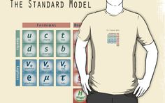 The God Particle: Higgs Boson and the Standard Model $25 (Available in sizes S-3XL and in 21 different colors!)
