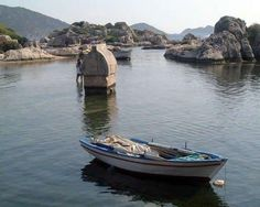 Kekova / Turkey - I did this once...stood next to that ancient Lycian tomb...
