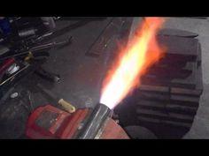 Homemade forge burner/Palnik gazowy samoróbka