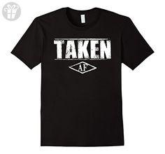 Men's Taken AF Funny T-shirt XL Black - Birthday shirts (*Amazon Partner-Link)