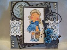 Where Flowers Grow by Karen Stark - Cards and Paper Crafts at Splitcoaststampers