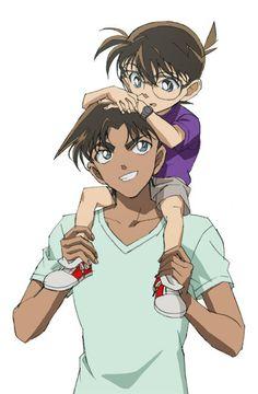 Heiji & Conan so süß, wie die zusammen aussehen