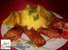 Sonkában sült csirkemáj Chicken, Food, Eten, Meals, Cubs, Kai, Diet