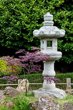 Stone Lantern, Japanese Tea Garden, Golden Gate Park, San Francisco, CA, USA | Flickr - Photo Sharing! by Charlie Wambeke