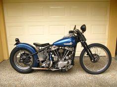 Old Harley Davidson panhead
