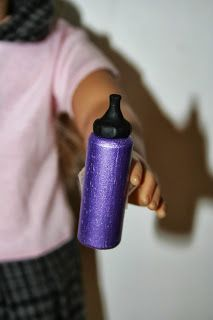 Arts and Crafts for your American Girl Doll: Drink Bottle for American Girl Doll