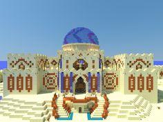 Minecraft Desert House, Minecraft Castle, Minecraft Plans, Minecraft House Designs, Minecraft Tutorial, Minecraft Blueprints, Minecraft Creations, Minecraft Crafts, Minecraft Party