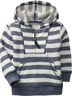 Old Navy Striped Terry Hoodies for Baby