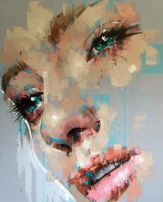 Ojos       Arte en pintura acrílica de Jimmy Law