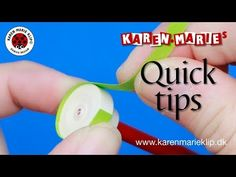 Quilling Rings (Quick Tips) - Karen Marie Klip & Papir Paper Quilling, Quilling Ideas, Circle Template, How To Make Rings, Quilling Techniques, Paper Strips, Used Tools, Small Rings, Booklet