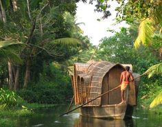 """Kerala Backwaters is situated in the state of Kerala, India. Kerala is a great tourist destination spot and the """"National Geographic Society"""" listed Kerala among the """"lifetime 50 destinations""""."""