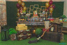 Harry Potter themed birthday party via Kara's Party Ideas | KarasPartyIdeas.com (10)