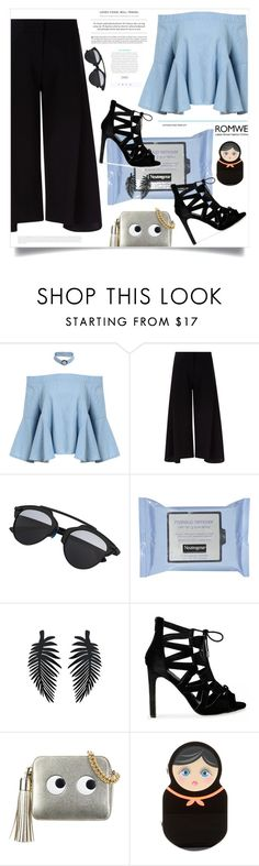 """Purity Made Simple"" by violet-peach ❤ liked on Polyvore featuring Victoria, Victoria Beckham, Anya Hindmarch and Ashlyn'd"