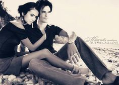 Elena and Damon, love them as a couple!