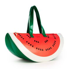 This cooler is WAY too cute!!super chill cooler bag - watermelon