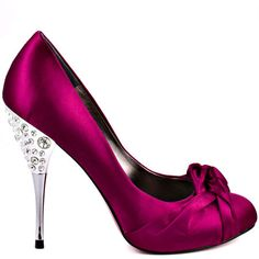Heels I LOVE for wedding ... Dark Pink!