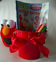 Elmo party favor