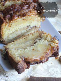 cake aux pommes a l'ancienne 1 Fondant Cakes, Cupcake Cakes, Caramel Apples, Diet Desserts, Apple Desserts, Delicious Desserts, Dessert Recipes, Cake Aux Pommes, Cake Factory