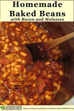 ... Pinterest   Baked Beans, Homemade Baked Beans and Boston Baked Beans