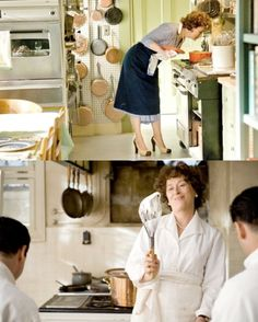 That's cool whipping! Amy Adams Movies, Cooking Tv, When Harry Met Sally, Nora Ephron, Culinary Arts, Home Hacks, Meryl Streep, Movie Marathon, Child