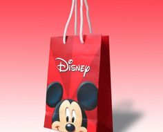 Disney Promotional Paper Bag - a creative packaging solution produced by Cedar Packaging