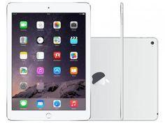 "iPad Air 2 Apple 128GB Prata Tela 9,7"" Retina - Processador M8 Câmera 8MP + Frontal"