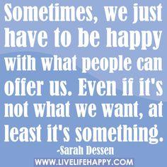 Sarah Dessen book quote