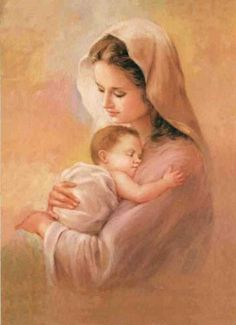 Mary Mother of Jesus | It is Mary Mother of Jesus who taught us How to pray the Rosary. It ...