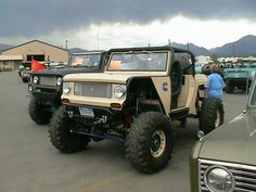 Scout 80 off road