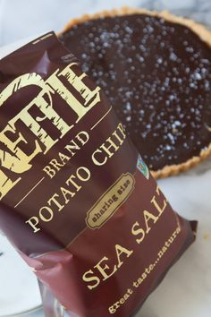 Salted Chocolate Tart with Kettle Chip Crust | What's Gaby Cooking#.UrIDbvZRapU#.UrIDbvZRapU#.UrIDbvZRapU