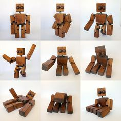 Wooden character for stop motion. Woodworking Patterns, Diy Woodworking, Wood Images, Wood Carving Patterns, Kids Wood, Wooden Puzzles, Scroll Saw, Wood Toys, Paper Toys