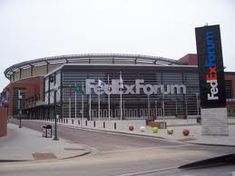 Fed Ex Forum - Memphis TN:  Memphis Tigers basketballlllllll!!