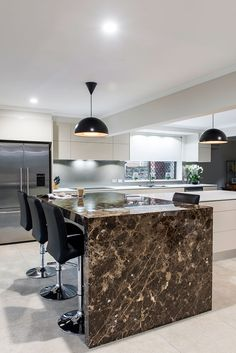 Kitchen Project – Sublimely Styled - Queensland Homes: Sublime Architectural Interiors